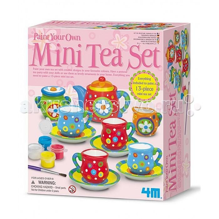 Наборы для творчества 4М Чайный сервиз 00-04541 наборы для творчества 4м фигурки из формочки принцесса 00 03528