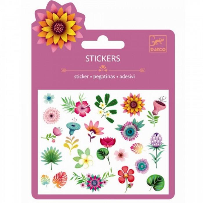 Детские наклейки Djeco Наклейки Тропические цветы