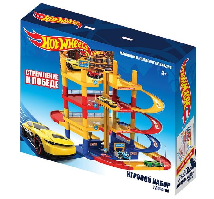 Купить Машины, Hot Wheels Игровой набор парковка с дорогой