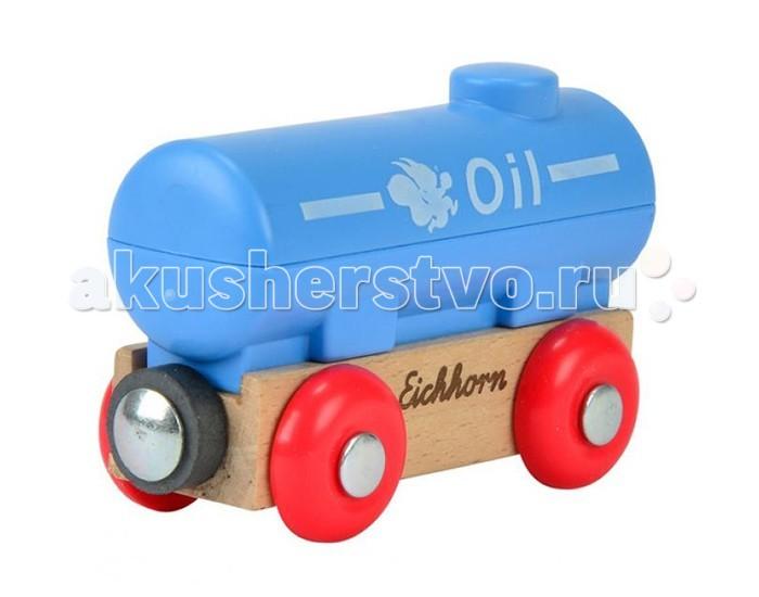 Железные дороги Eichhorn Вагон танкер eichhorn аксессуар для железной дороги висячий мост