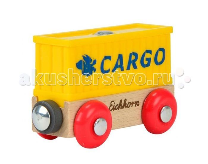Железные дороги Eichhorn Вагон контейнер эксмо дети железной дороги эдит несбит