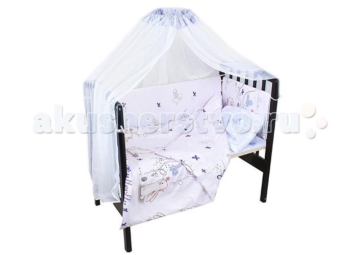 Постельные принадлежности , Комплекты в кроватку Idea Kids Кролики (6 предметов) арт: 433409 -  Комплекты в кроватку
