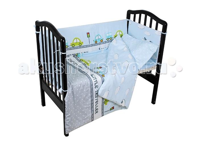 Постельные принадлежности , Комплекты в кроватку Idea Kids Машинки (6 предметов) арт: 433469 -  Комплекты в кроватку