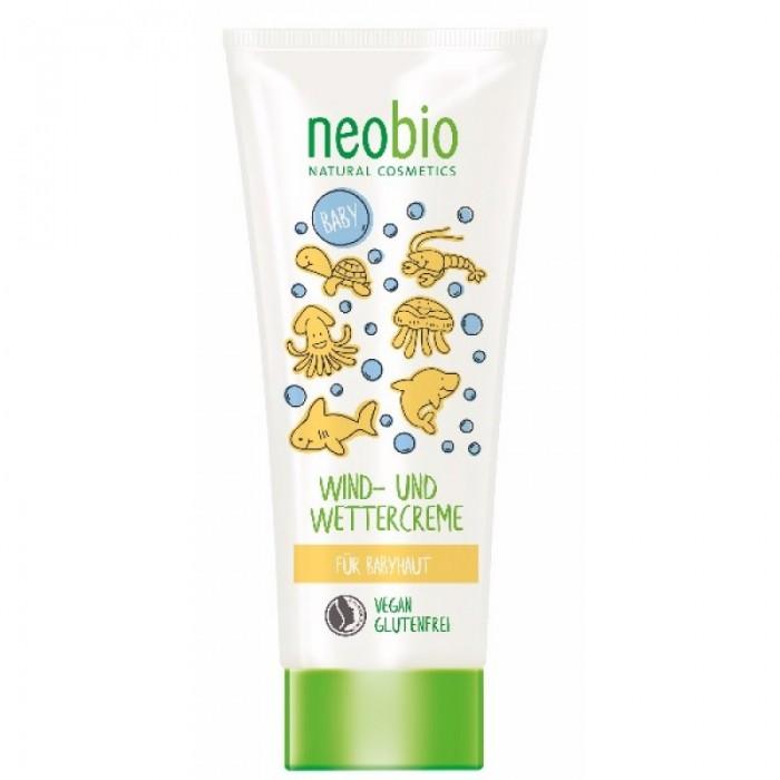 Косметика для новорожденных Neobio Детский защитный крем от ветра и холода с Био-календулой косметика для новорожденных neobio детский шампунь гель для волос и тела с био алоэ и био календулой