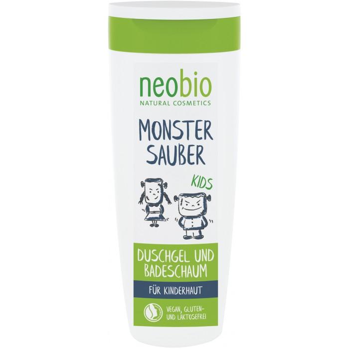 Косметика для новорожденных Neobio Детский гель для купания и пена с Био-алоэ и Био-календулой косметика для новорожденных neobio детский шампунь гель для волос и тела с био алоэ и био календулой