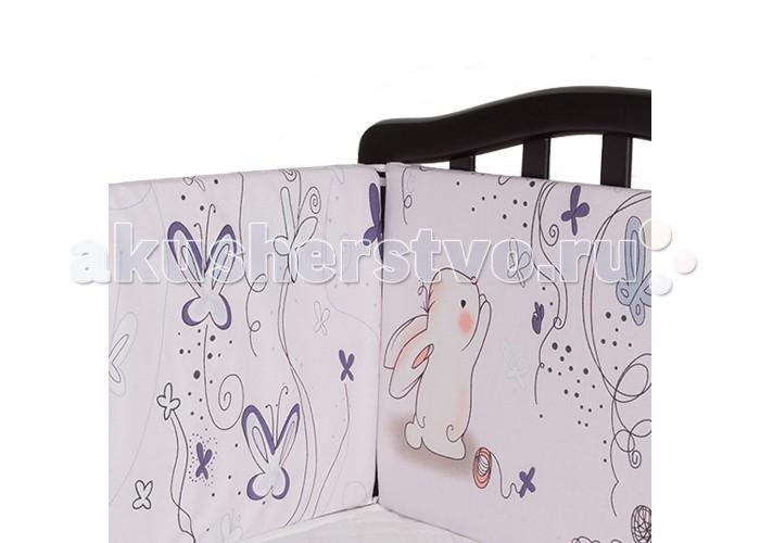 Постельные принадлежности , Бортики в кроватку Idea Kids Кролики арт: 433604 -  Бортики в кроватку