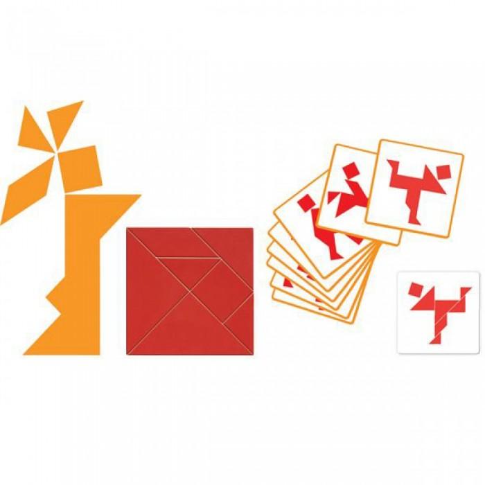 Игры для школьников Djeco Игра Танграм, Игры для школьников - артикул:433619