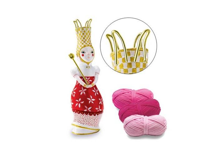 Купить Наборы для творчества, Djeco Набор творчества Вязания