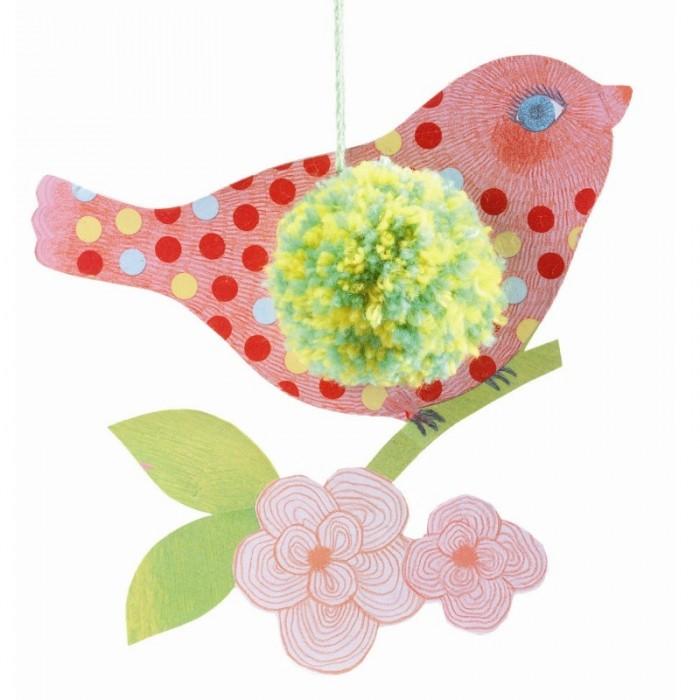 Наборы для творчества Djeco Набор для творчества Птицы djeco бархатные раскраски птицы с 3 лет