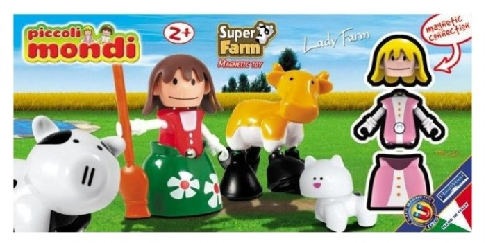 Конструктор Plastwood Piccoli Mondi Super Farm Lady Farm