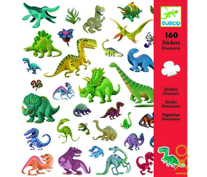Детские наклейки Djeco Наклейки Динозавры