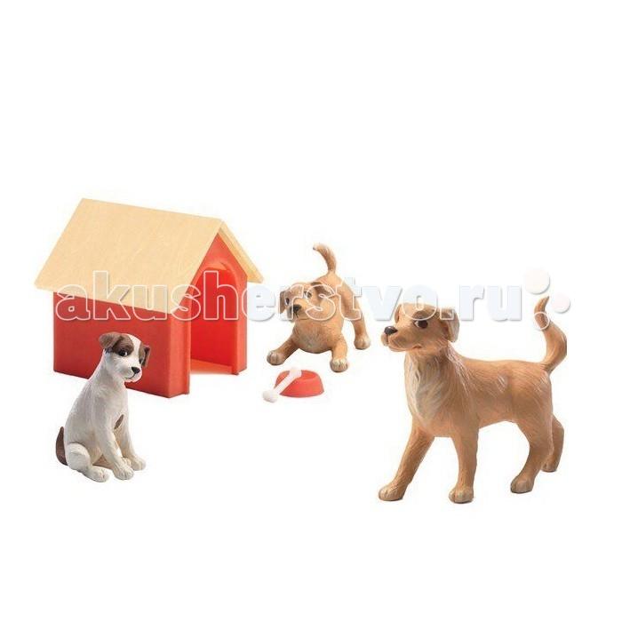 Игровые наборы Djeco Набор Собаки игровые наборы esschert design набор игровой kg118