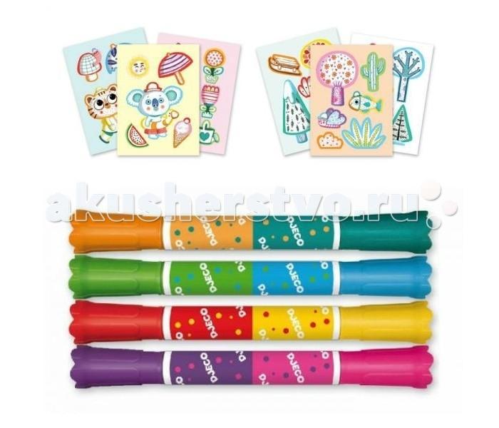 Наборы для творчества Djeco Набор для творчества для малышей Времена года djeco обучающая игра бинго времена года