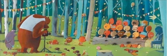 Пазлы Djeco Головоломка - пазл Лесные друзья djeco пазл для малышей лесные животные
