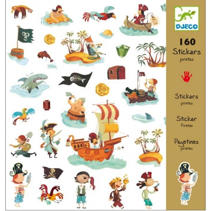 Детские наклейки Djeco Наклейки Пираты