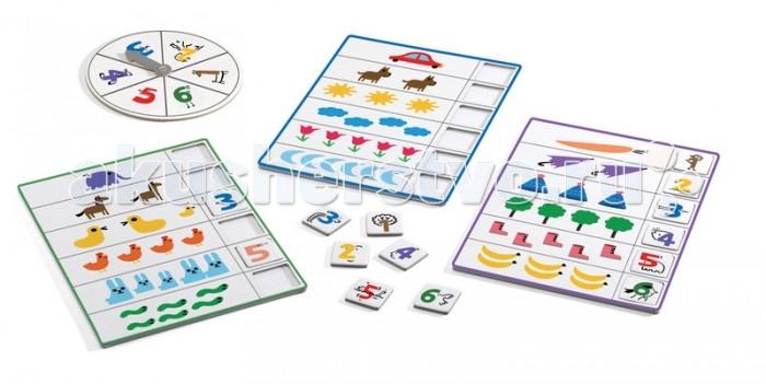Игры для малышей Djeco Игра Eduludo Числа Бинго игра e формы бинго djeco