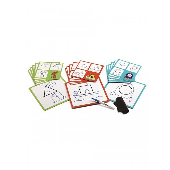 Настольные игры Djeco Игра настольная Геометрические фигуры настольные игры djeco настольная карточная игра мистибоо