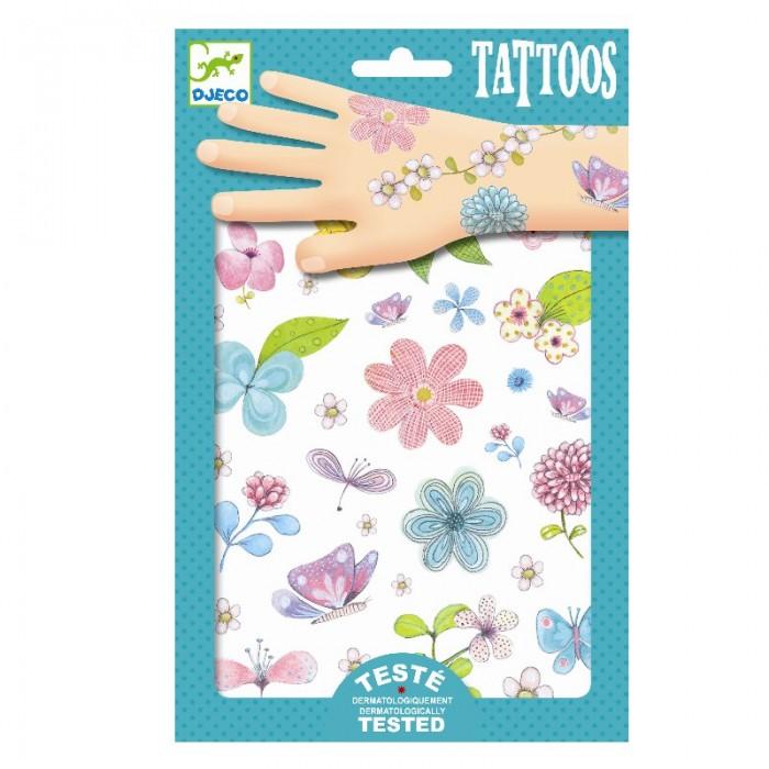 Наборы для творчества Djeco Татуировки Цветы