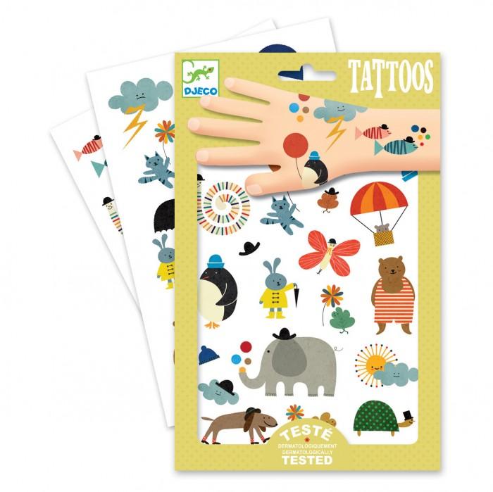 Купить Наборы для творчества, Djeco Татуировки Забавные мелочи
