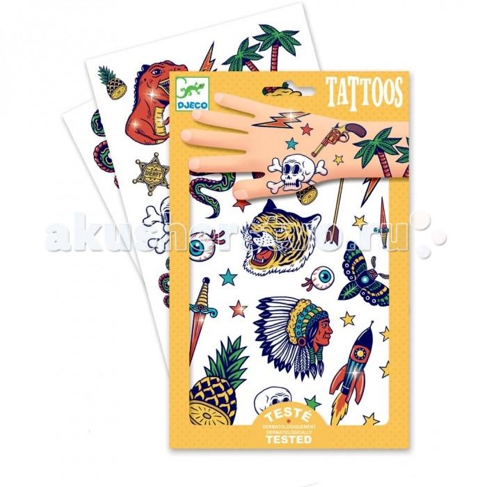 Наборы для творчества Djeco Татуировки Бэнг Бэнг