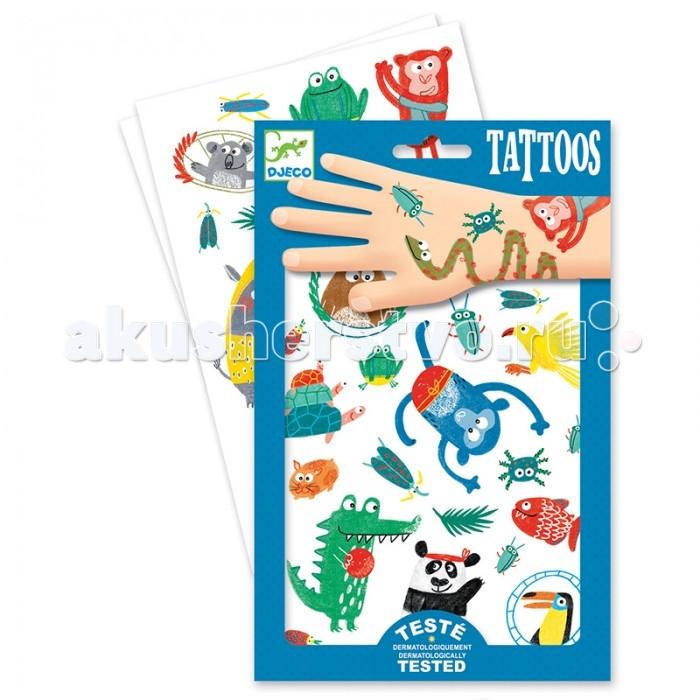 Наборы для творчества Djeco Татуировки Животные