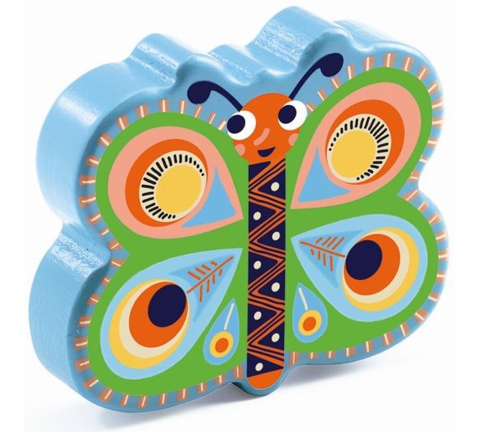 Музыкальные игрушки Djeco Маракас Бабочка настольные игры djeco игра eduludo числа бинго