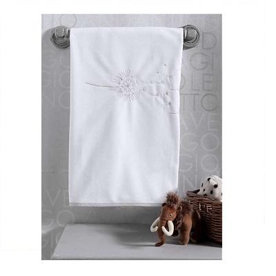 Плед Kidboo Blossom Linen White флис