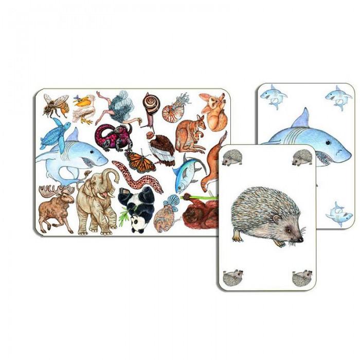 Настольные игры Djeco Детская настольная карточная игра Занимач настольные игры djeco игра eduludo числа бинго