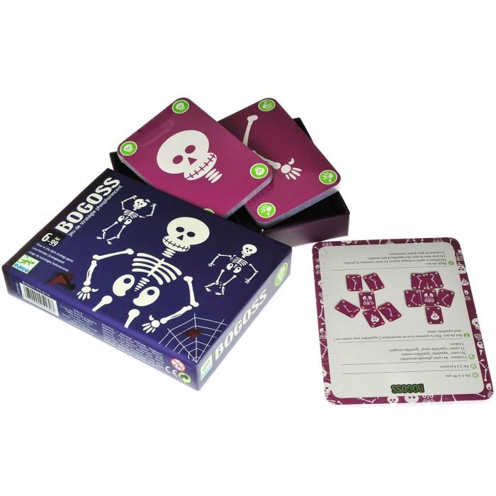 Игры для школьников Djeco Детская настольная карточная игра Богос, Игры для школьников - артикул:435084