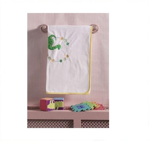 Постельные принадлежности , Пледы Kidboo Baby Dinos хлопок/велюр арт: 43509 -  Пледы