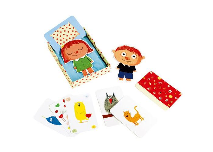Игры для малышей Djeco Детская настольная карточная игра Додо игры для малышей djeco детская настольная карточная игра мини семья
