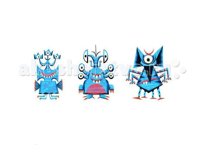 Игры для школьников Djeco Детская настольная карточная игра Монстр, Игры для школьников - артикул:435124