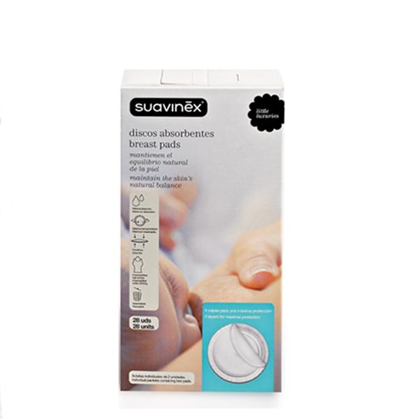 Гигиена для мамы Suavinex Вкладыши для бюстгальтера одноразовые 28 шт. недорого