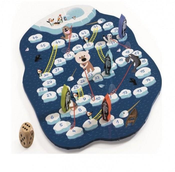 Настольные игры Djeco Настольная игра Сачки и лестницы настольные игры djeco настольная карточная игра занимач