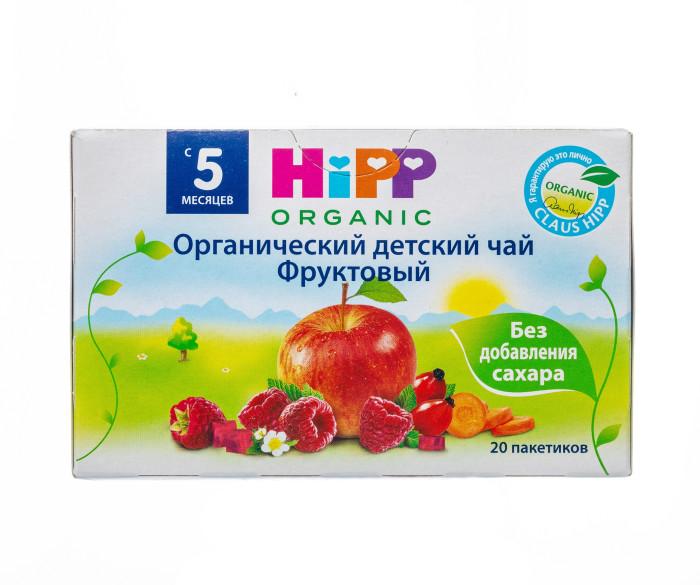 Чай Hipp Чай Фруктовый с 4 мес. 30 г х 20 пак. hipp морковно рисовый отвар орс 200 с 4 мес