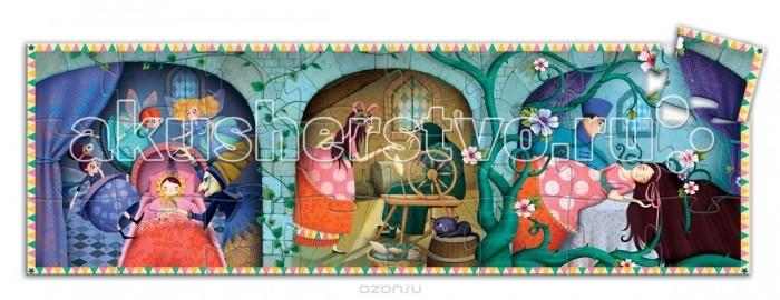 Пазлы Djeco Пазл Спящая красавица 24 детали сувенир закладка спящая красавица набор 7 штук