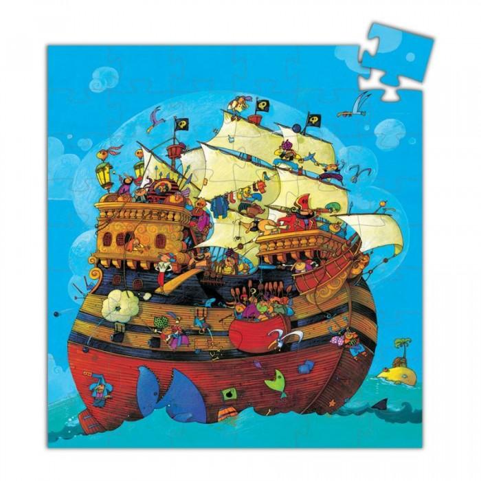 Пазлы Djeco Пазл Корабль Барберус пазлы magic pazle объемный 3d пазл эйфелева башня 78x38x35 см