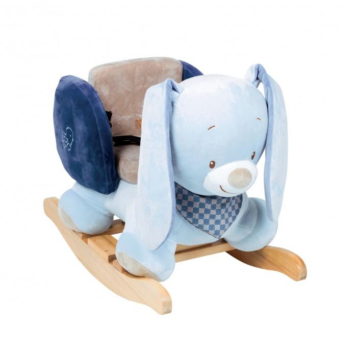 Качалка Nattou Alex &amp; Bibou КроликAlex &amp; Bibou КроликКачалка Nattou Alex & Bibou Кролик будет лучшим другом вашего малыша вызывающего улыбку и у детей, и у взрослых.   Особенности: высококачественные материалы: мягкий тканевый корпус, деревянные детали  выполнена качалка из плюшевой набивной ткани приятной на ощупь сиденье с ремнями безопасности. размеры качалки: 62х32х52 см.<br>