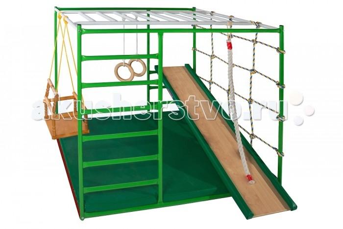 Спортивные комплексы КМС Детский спортивный комплекс Муравейник 1 + с горкой