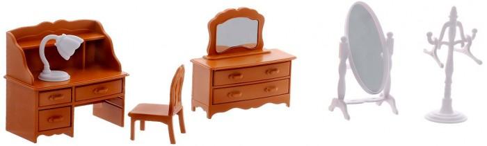 Кукольные домики и мебель ABtoys Счастливые друзья Набор мебели для гостиной набор мебели для гостиной 2 с аксессурами счастливые друзья abtoys