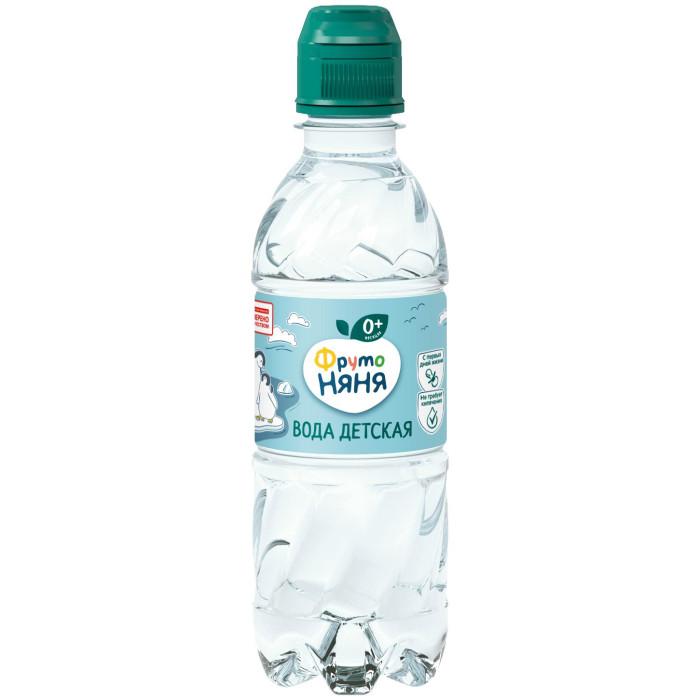 Вода ФрутоНяня Вода детская питьевая с 0 мес. 0.33 л вода о без газа 0 6 л 12шт