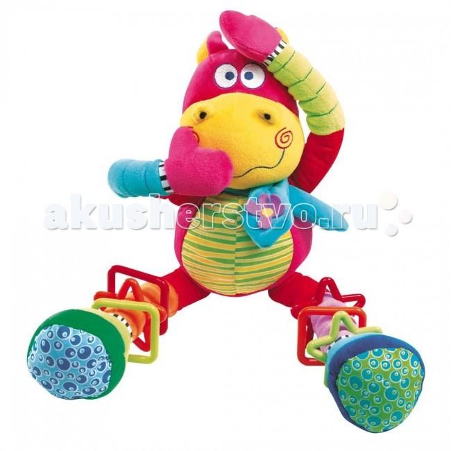 Подвесные игрушки Bebe Confort Танцующий бегемотик бегемотика из кожи в москве