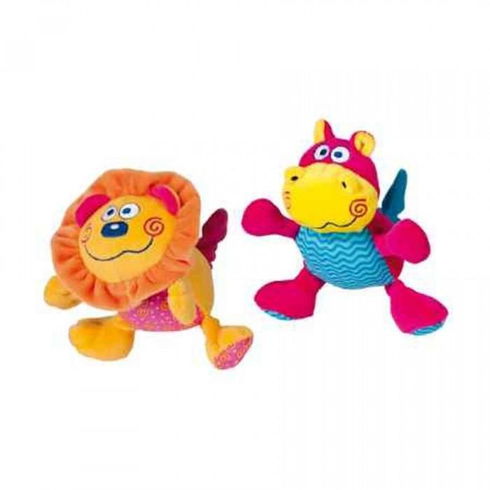 Развивающие игрушки Bebe Confort Смеющийся бегемотик/львенок bebe confort пустышки латексные classic dummies 6 12 мес 2 шт