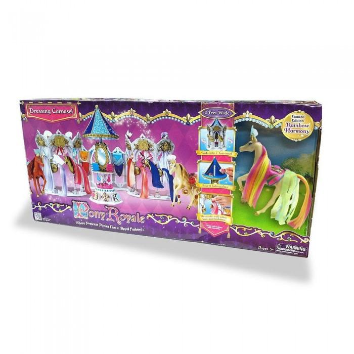 Игровые наборы Pony Royal Набор Пони Рояль: карусель и королевская лошадь Радуга, Игровые наборы - артикул:437124