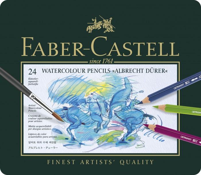Faber-Castell Карандаши акварельные Albrecht Durer 24 цвета от Faber-Castell