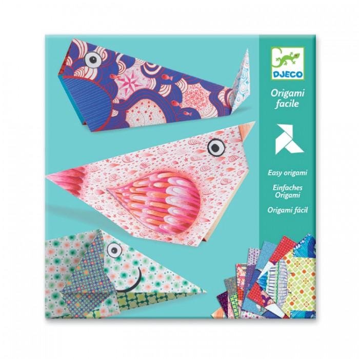 Наборы для творчества Djeco Оригами Большие животные наборы для творчества sentosphere набор для детского творчества оригами
