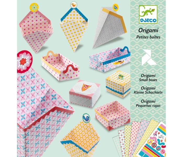 Наборы для творчества Djeco Оригами Маленькие коробочки