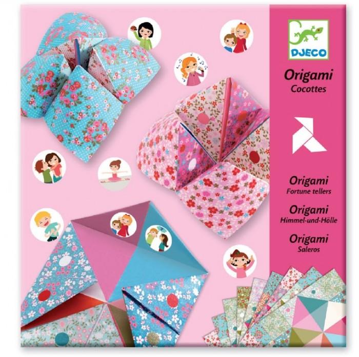Фото - Наборы для творчества Djeco Оригами с фантами наборы для творчества djeco оригами полярные животные