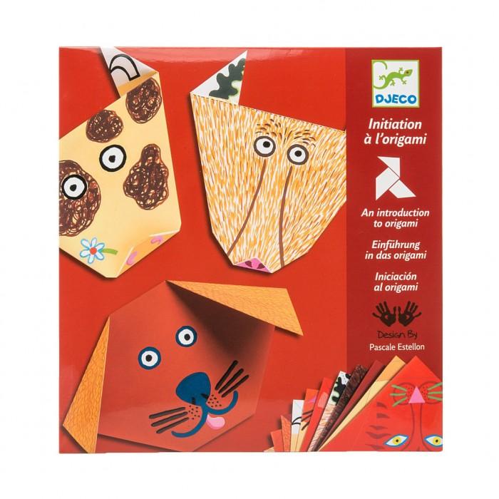 Djeco Оригами Бумажные животные фото
