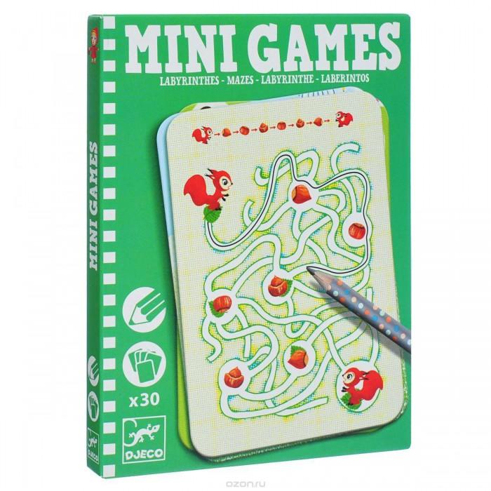 Настольные игры Djeco Мини игра Лабиринты Ариадны игры для малышей djeco детская настольная карточная игра мини семья